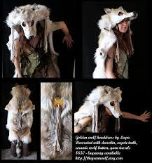 golden wolf headdress by lupagreenwolf on deviantart