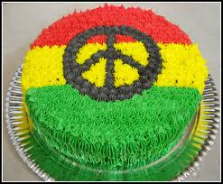 rasta cake for my baby u0027s birthday next month but a weed leaf and