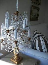 Chandelier Table Lamp All The Intricacy Of A Chandelier With The Simplicity Of A Table