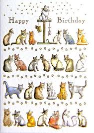 cat birthday cards lilbibby