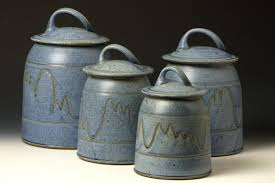 ceramic canisters sets for the kitchen pottery kitchen canister sets rapflava