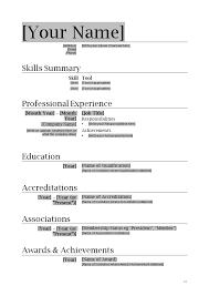 basic resume template word 2003 resume exles download resume template word free resume wizard