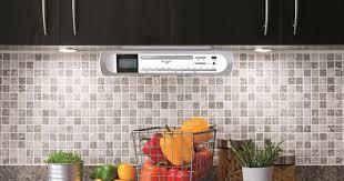 Kitchen Under Cabinet Radio Cd Player Ur2170si Silver Fm Dab Under Cabinet Radio Cd For Kitchen