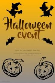 Customizable Design Templates For Halloween Poster Template