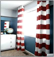 White And Navy Striped Curtains And White Striped Curtains Teawing Co