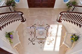 marble design in home entry marvelous marble