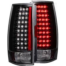 cadillac escalade tail lights anzo usa chevy tahoe suburban gmc yukon xl denali 07 14 l e d