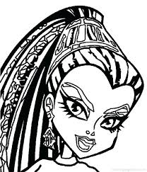 astonishing astounding printable monster high coloring pages new