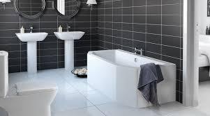 Black Ceramic Floor Tile Remarkable White Floor Tile Bathroom And Best 25 Black Bathroom