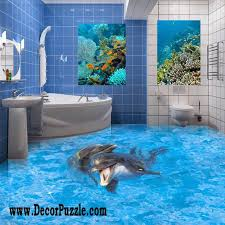 unique bathroom flooring ideas best catalog of 3d floor and 3d flooring murals
