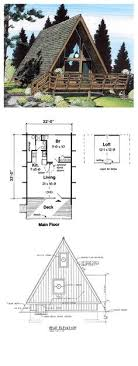 free a frame house plans 30 free cabin plans for diy a frame cabin drawing amazmerizing