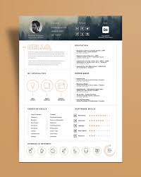 Resume Icons Free Free Stylish Resume Template And Resume Icons Ai File Good Resume