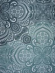 Cynthia Rowley Drapery Cynthia Rowley Ombre Medallion Shower Curtain Aqua Green White