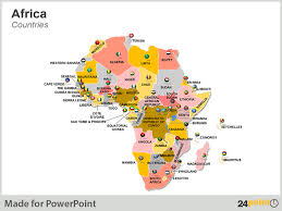 africa map all countries 24point0 s africa maps for ppt an essential tool for business
