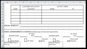 Requirements Spreadsheet Template Job Card Template Excel