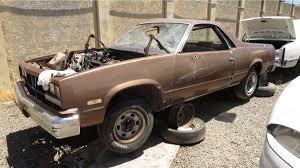 New Chevrolet El Camino Junkyard Treasure 1985 Chevy El Camino