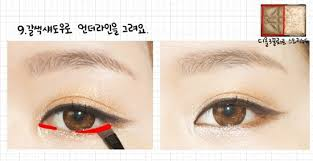 light brown gel eyeliner beauty girls generation s jessica s i got a boy mv makeup tutorial