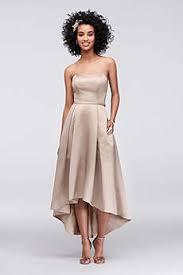 Canary Yellow Dresses For Weddings High Low Dresses David U0027s Bridal