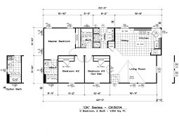 Golden West Homes Floor Plans by Ck501a 3 Bed 2 Bath 1159 Sqft Affordable Home For 65900