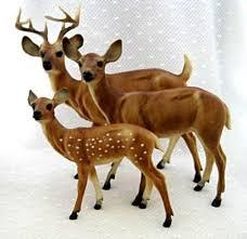 breyer traditional model 1734 deer family breyer