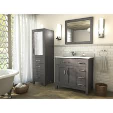 traditional bathroom vanity kalize 36 french gray finish hand stained