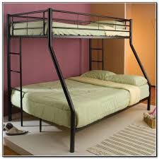 Twin Queen Bunk Bed Acme Limbra Twin Over Queen Bunk Bed In Gray - Twin over queen bunk bed