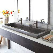 stone vessel sink amazon vessel sink with two faucets michaelresin site