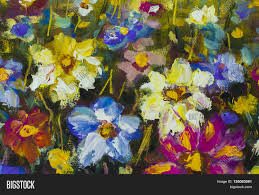 big flowers close fragment oil image u0026 photo bigstock