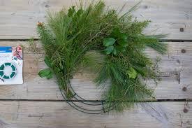 fresh wreaths how to make a fresh greenery wreath wholefully