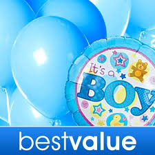 balloons same day delivery baby boy balloon bouquet at send flowers