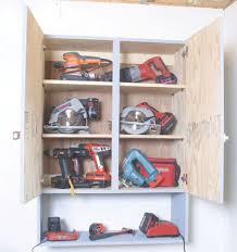 Tool Storage Cabinets Build A Locking Tool Cabinet How To