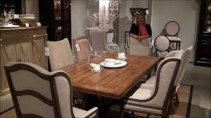 Dining Tables  Stanley Pedestal Dining Table Stanley Furniture - Hooker dining room sets