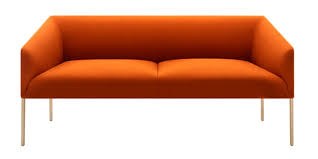 2 Seat Sofa Arper Saari 2 Seat Sofa In Orange