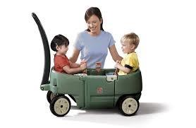 wagon baby step2 blue wagon plus buybuy baby