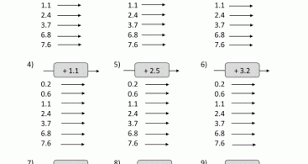 dividing decimals by whole numbers worksheet rounding worksheets