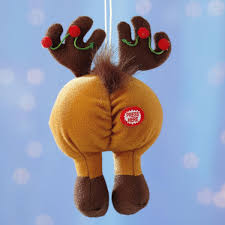 tootin tushie reindeer ornament current catalog