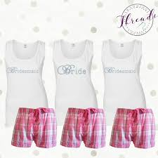 bridesmaid pajama sets personalised and bridesmaid dressing gowns gallery