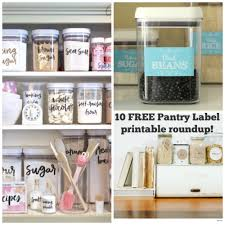 Kitchen Canister Labels 10 Free Printable Pantry Labels To Whip Your Kitchen Into Shape