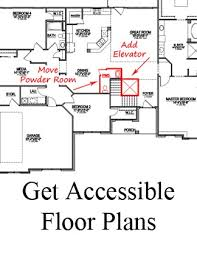 Accessible House Plans Best Downstairs Bedroom House Plans 2017 Nc New Homes