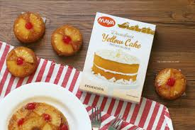 taste test maya yellow cake mix pineapple upside down cake
