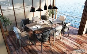 home by the sea with stunning dining room lighting u2013 dining room