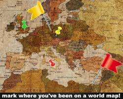 Retro Home Decor Uk World Map Photo Wallpaper Mural Vintage Retro Motif Xxl World Map