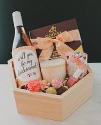 wedding gift baskets wedding gift basket bridesmaids gifts gift