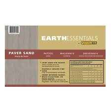 Patio Paver Jointing Sand by Shop Earthessentials By Quikrete 0 5 Cu Ft Leveling Paver Sand At
