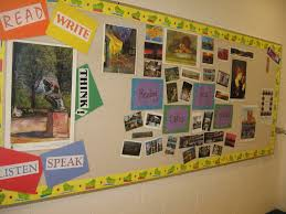 bulletin boards and wall décor for high english classrooms