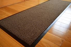 Brown And Black Rugs Big Extra Large Brown And Black Barrier Mat Rubber Edged Heavy