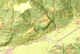 St Martin Map Karte Vinschger Höhenweg St Martin Tschars