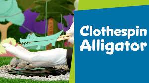 how to make a clothespin alligator superhands easy crafts diy