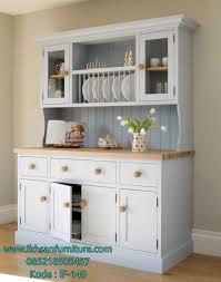 jual lemari dapur minimalis dengan rak piring model lemari dapur