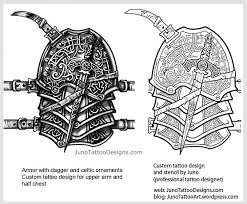 celtic and scottish tattoos custom designer